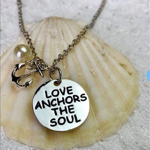 ❤️ Anchors The Soul Necklace *Sale Jewelry 3/$15*
